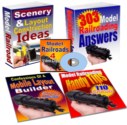 model train layouts books